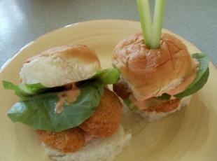 Buffalo Chicken Sliders Recipe
