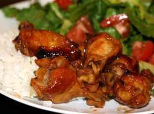 BBQ Brn Sugar Chicken Drumettes Recipe