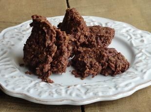Chocolate Peanutbutter No-Bake Cookies (or just Chocolate No-bake cookies) Recipe