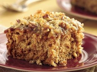 Oatmeal Cake and Topping
