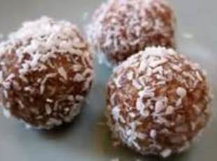 Cocoa Coconut Balls - Easy!