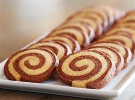 Chocolate Hazelnut Peanut Butter Pinwheel Cookies Recipe