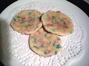 Rainbow Sugar Drop Cookies Recipe