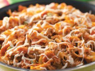 Pepperoni Pizza Skillet Recipe