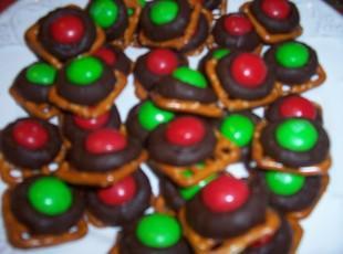 Chocolate Pretzel Squares Recipe