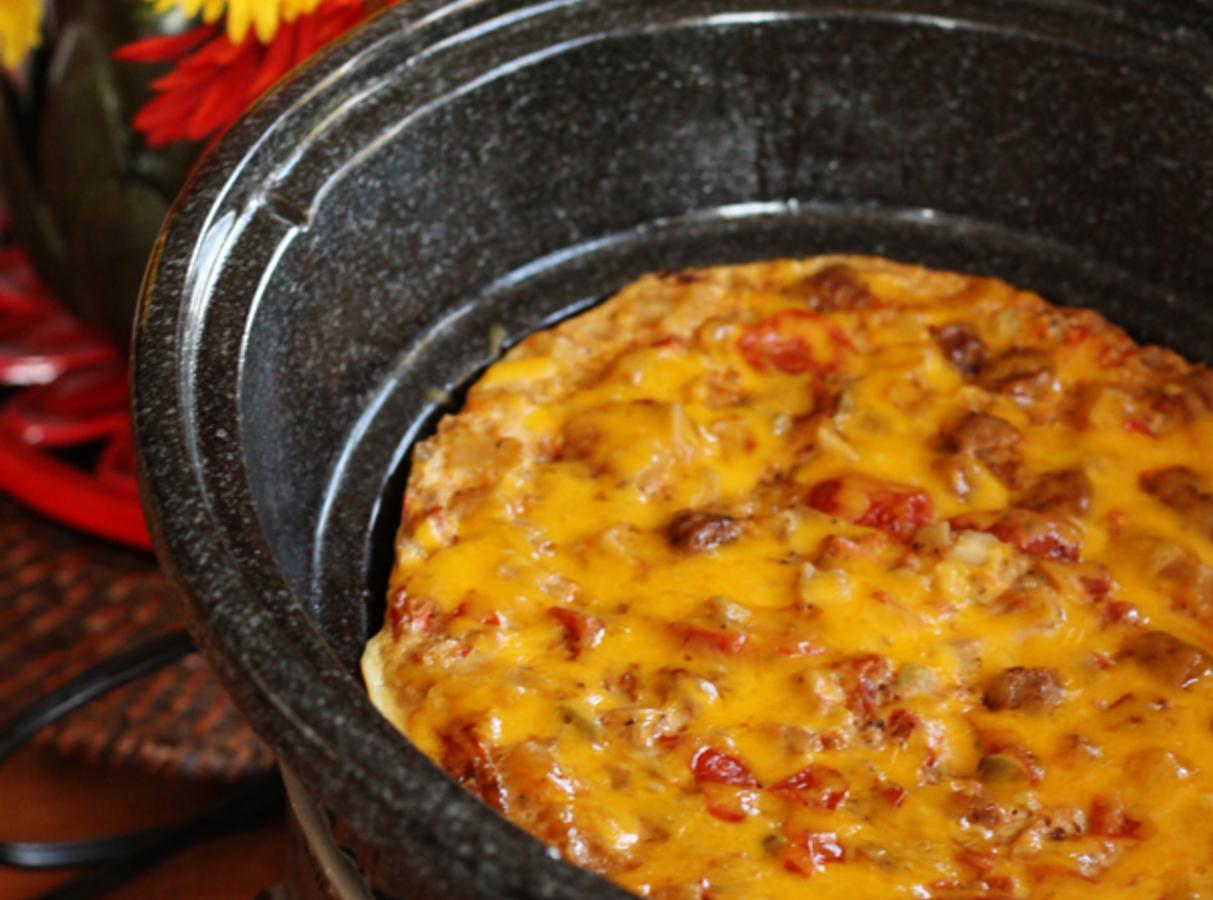 crock pot breakfast casserole recipe just a pinch recipes