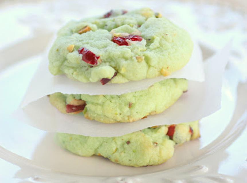 Cran-Pistachio Cookies Source: Betty Crocker Recipe | Just A Pinch ...