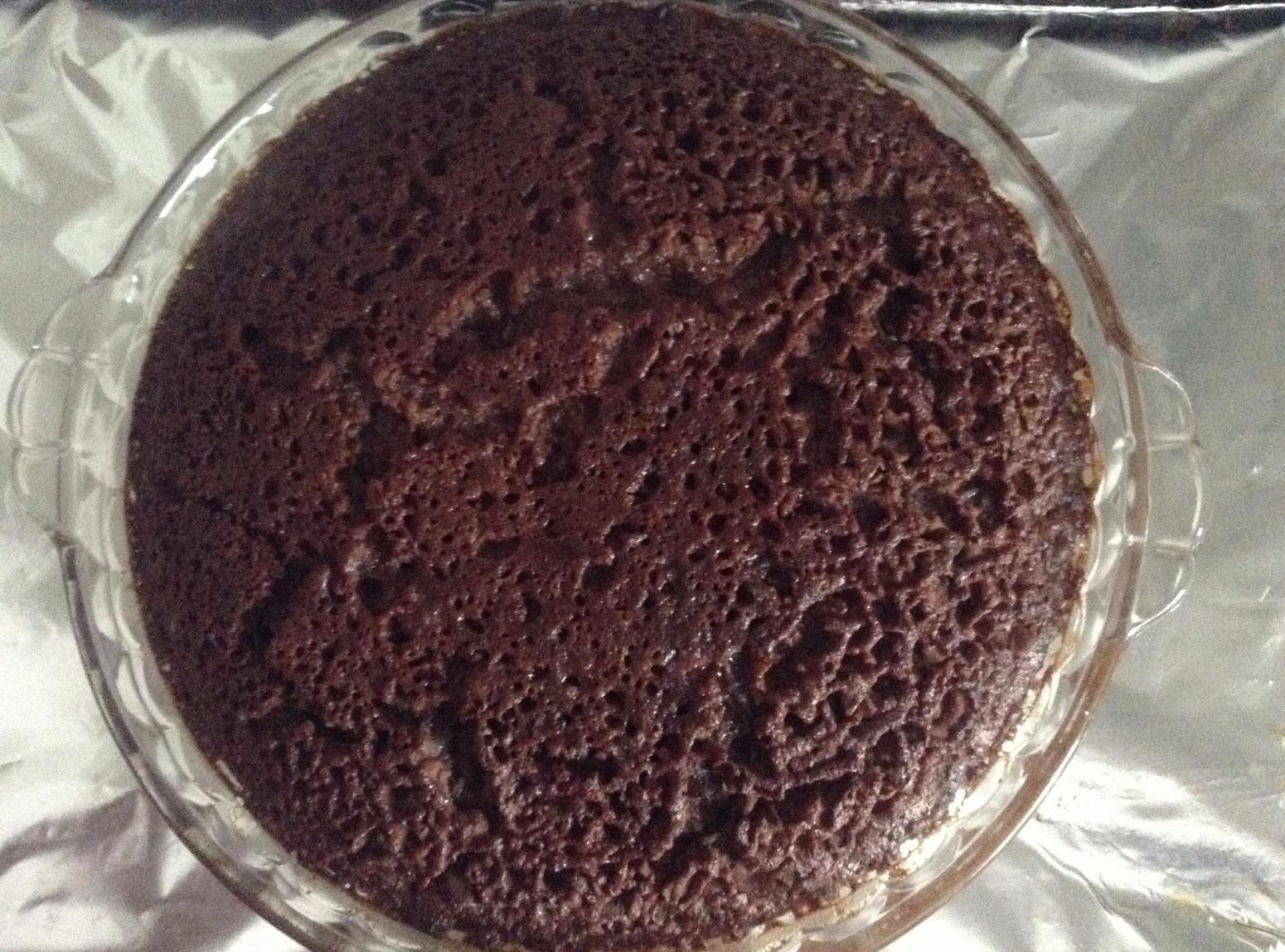 CHOCOLATE BROWNIE PIE Recipe