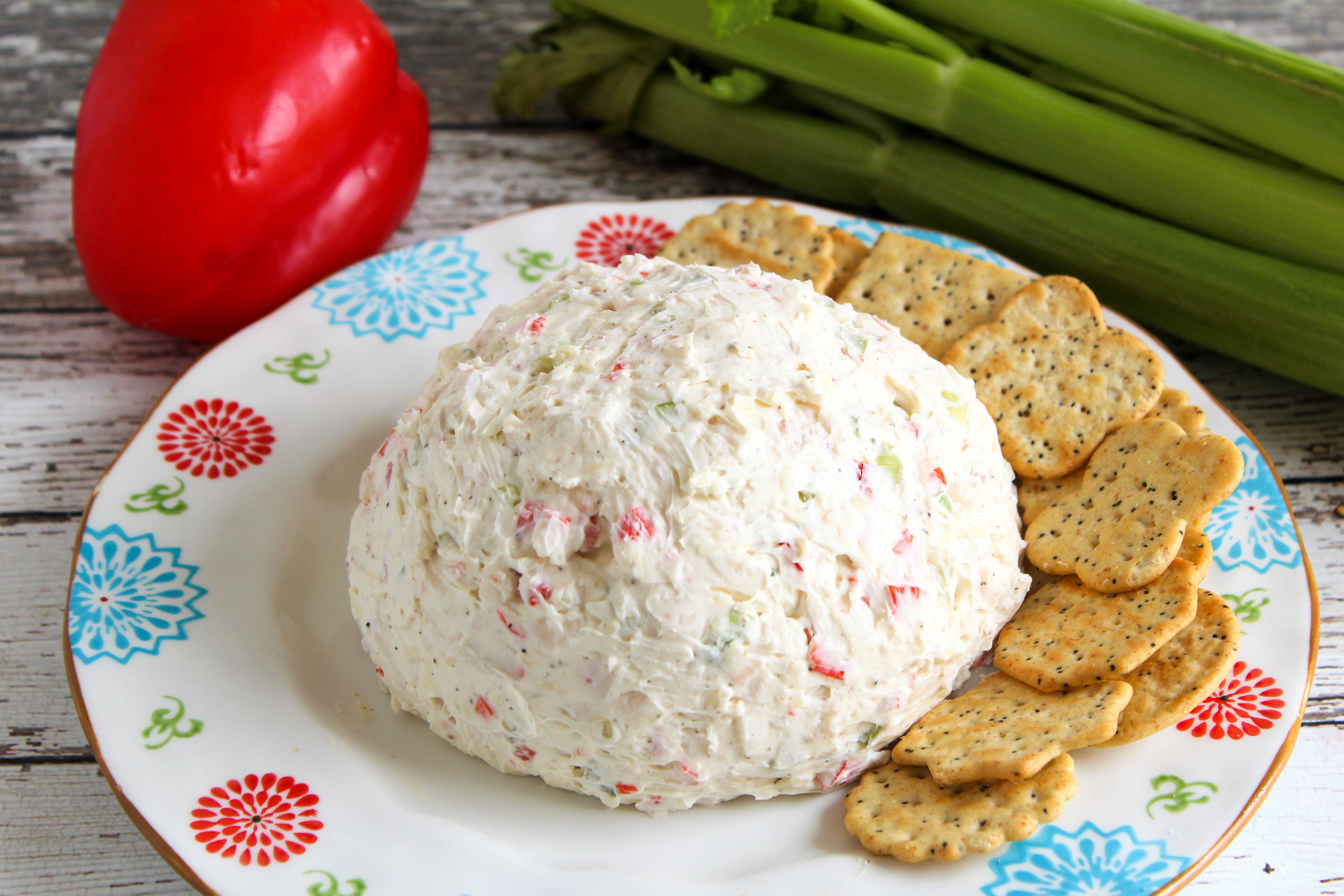 Crab Salad Cheese Ball or Spread