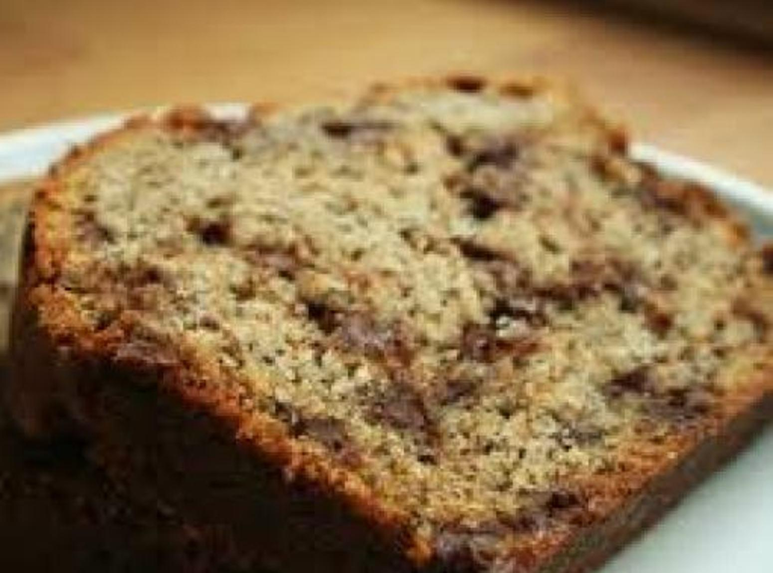 Peanut Butter Chocolate Chip Banana Bread Recipe | Just A Pinch ...