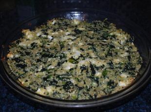 Greens and Quinoa Pie Recipe