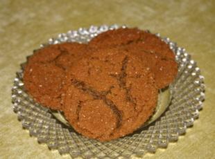Spicy Molasses Cookies Recipe