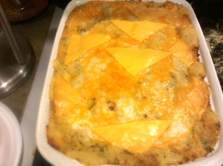 LOADED OVEN BAKED POTATO CASSEROLE Recipe