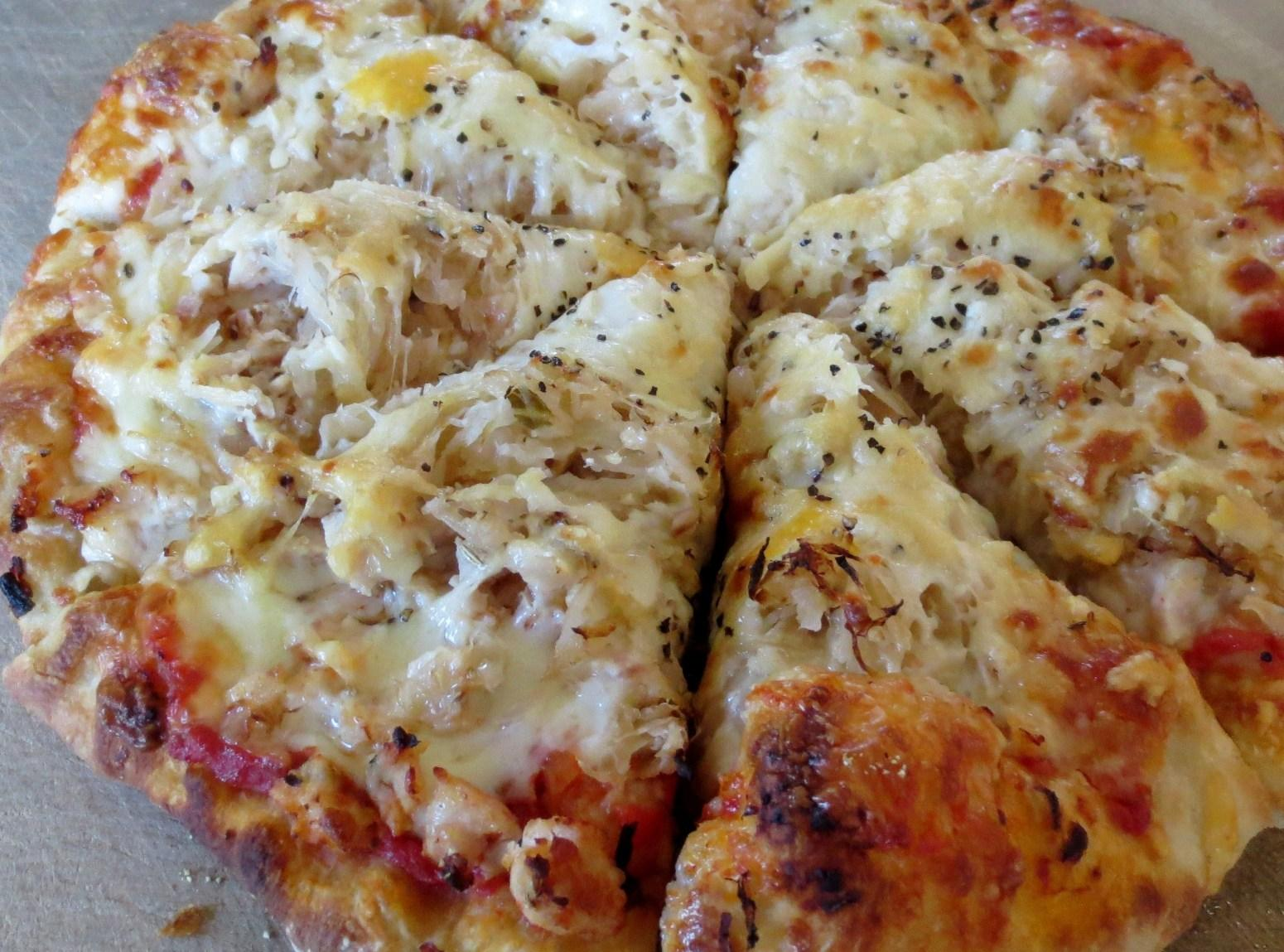 Sauerkraut Pizza Recipe