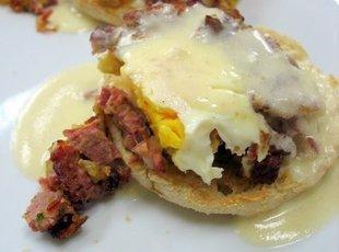 Eggs Benedict Griddlers Recipe