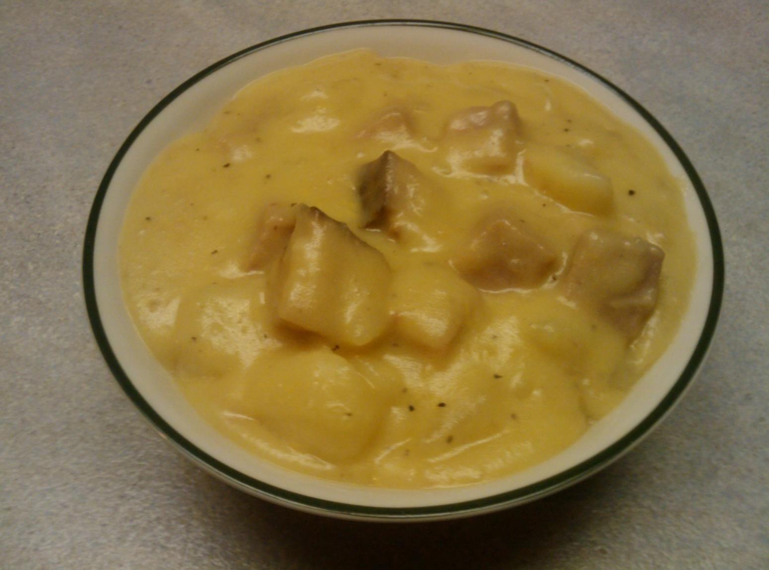 Cheesy Ham and Potatoes Recipe