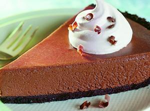 Chocolate Chiffon Pie Recipe 4 | Just A Pinch Recipes