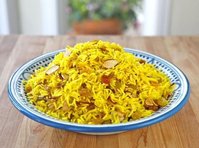 Claudia Roden's Riz au Saffran - Saffron Rice Recipe   Just A Pinch ...