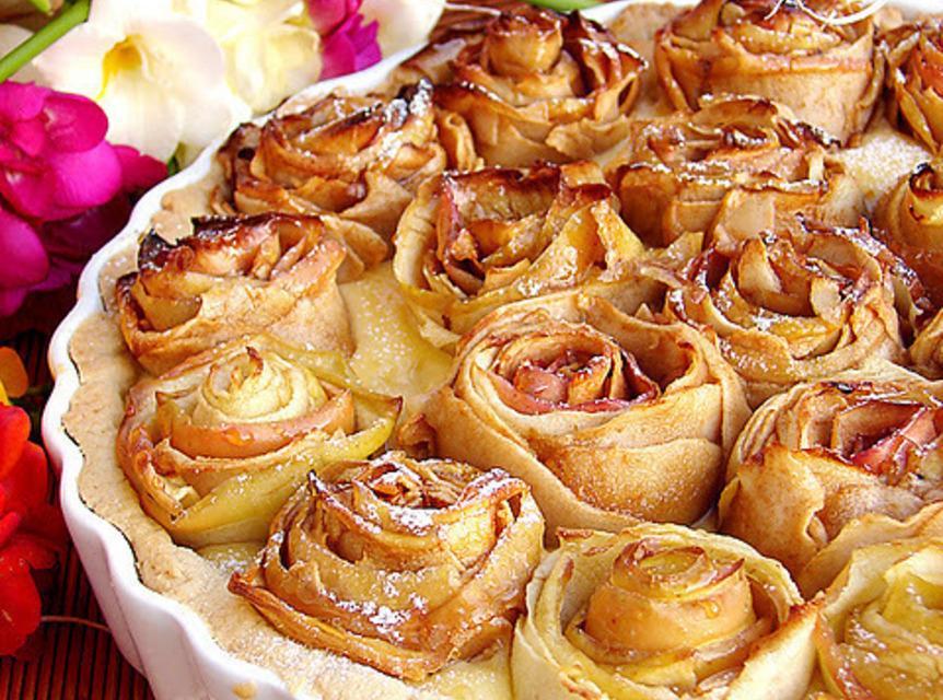 Apple Pie of Roses Recipe