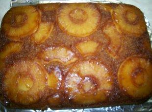 Pineapple upside down cake like Mama made Recipe