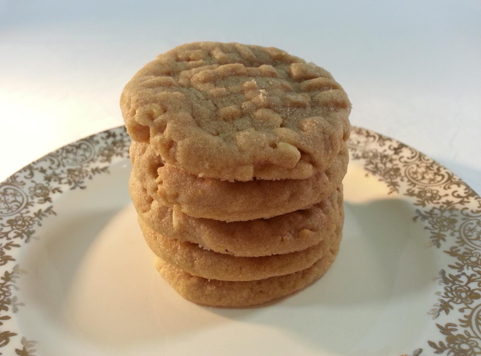 Honey Roasted Peanut Butter Cookies Recipe