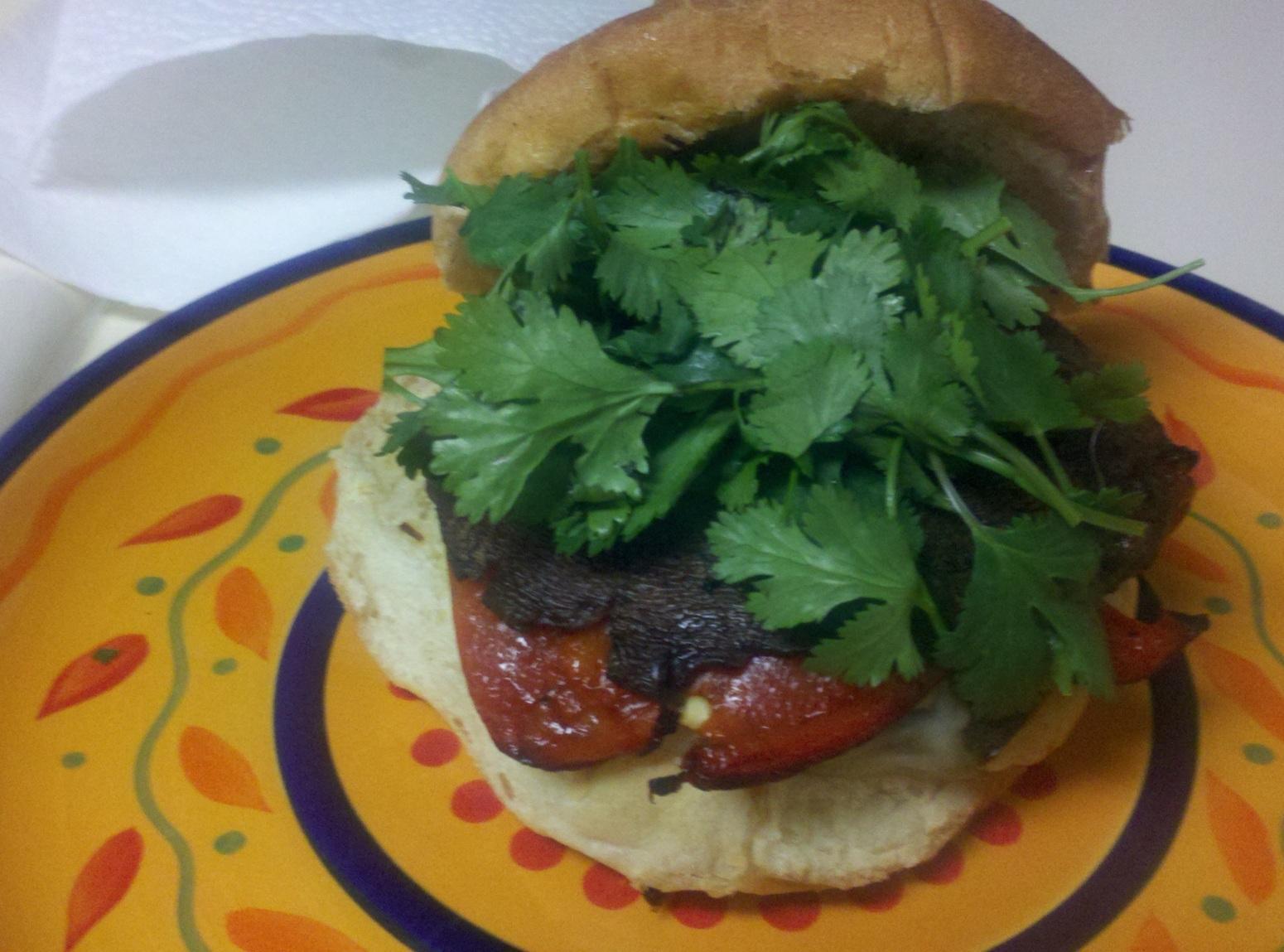 Portabella Mushroom Burgers Recipe