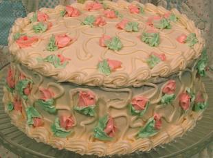 Amy Cake (Coconut Pecan w/Cream Cheese Frosting) Recipe