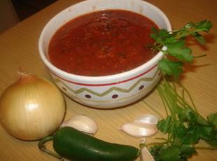 Mexican Red Table Salsa, Salsa Roja de Mesa Mejicana Recipe