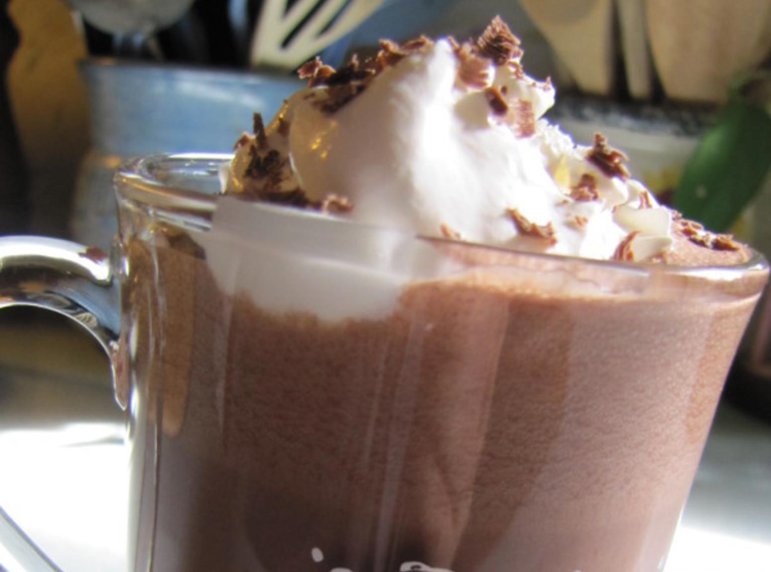 Sin, Sin, Sin on a Sunday: Frozen Hot Chocolate Recipe