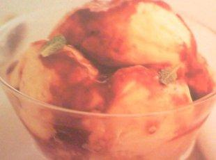 White Chocolate Raspberry Ripple Ice Cream Recipe
