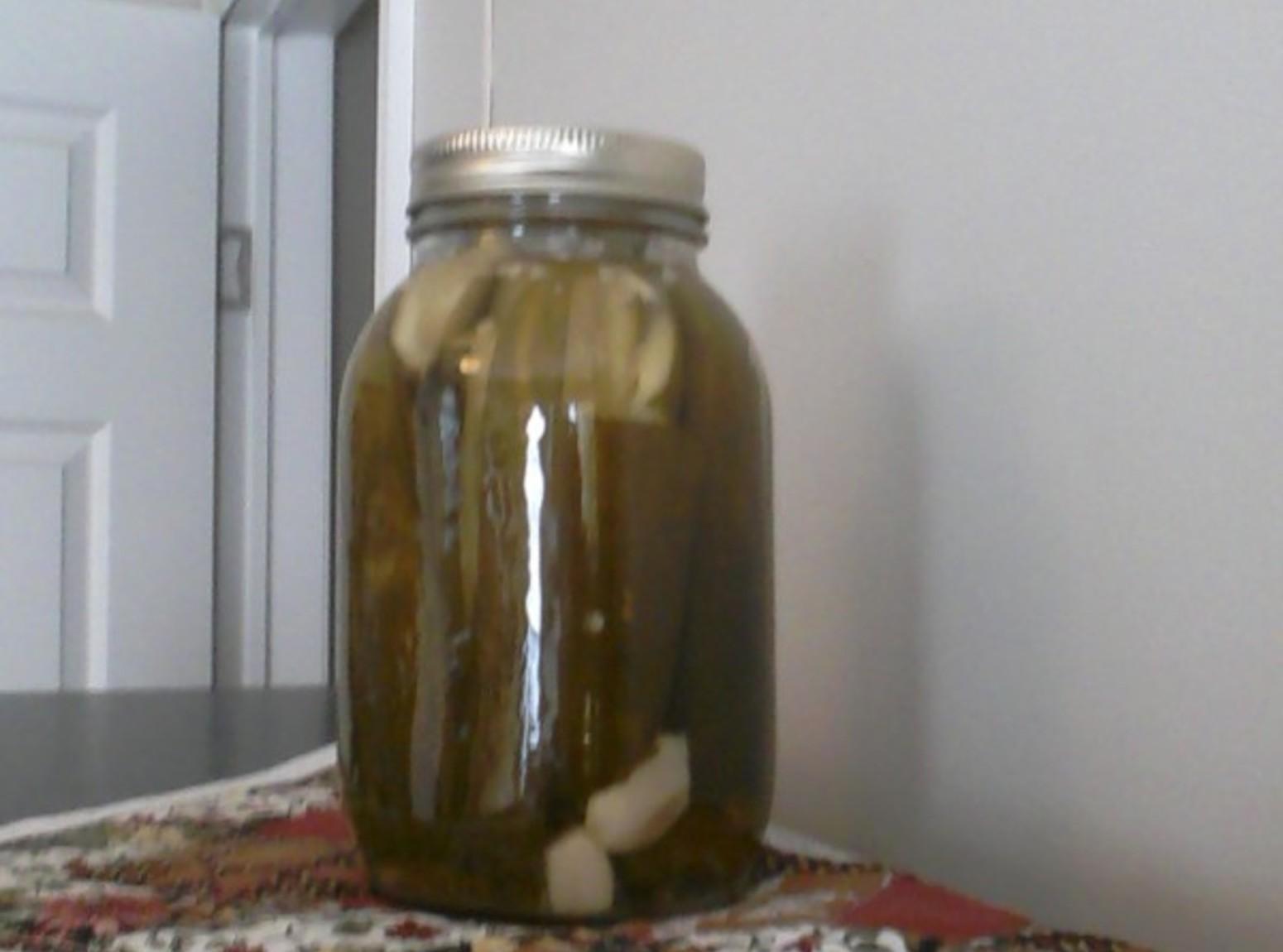 Grannie Lee's Dill Pickles Recipe