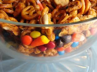 Trick or Treat Trail Mix Recipe