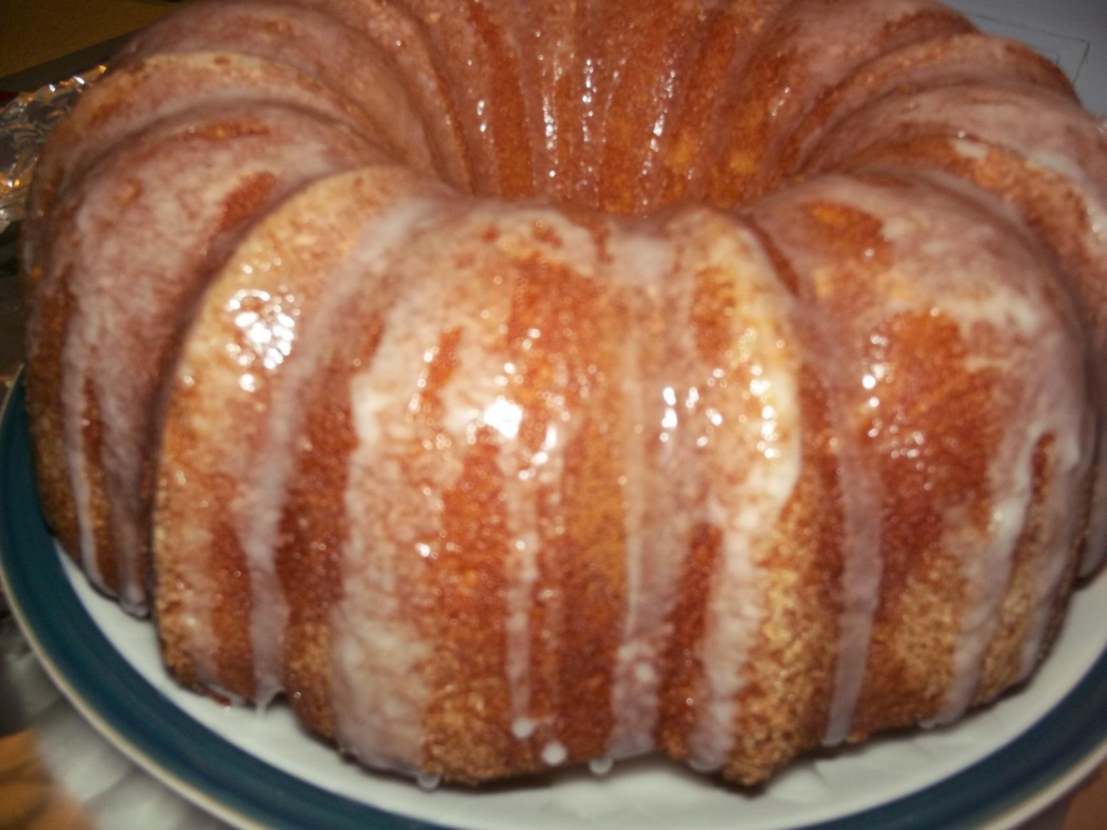 Lemon Bundt Cake From Box Mix