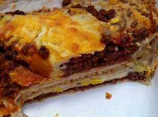 Delicioso Mexican Lasagna
