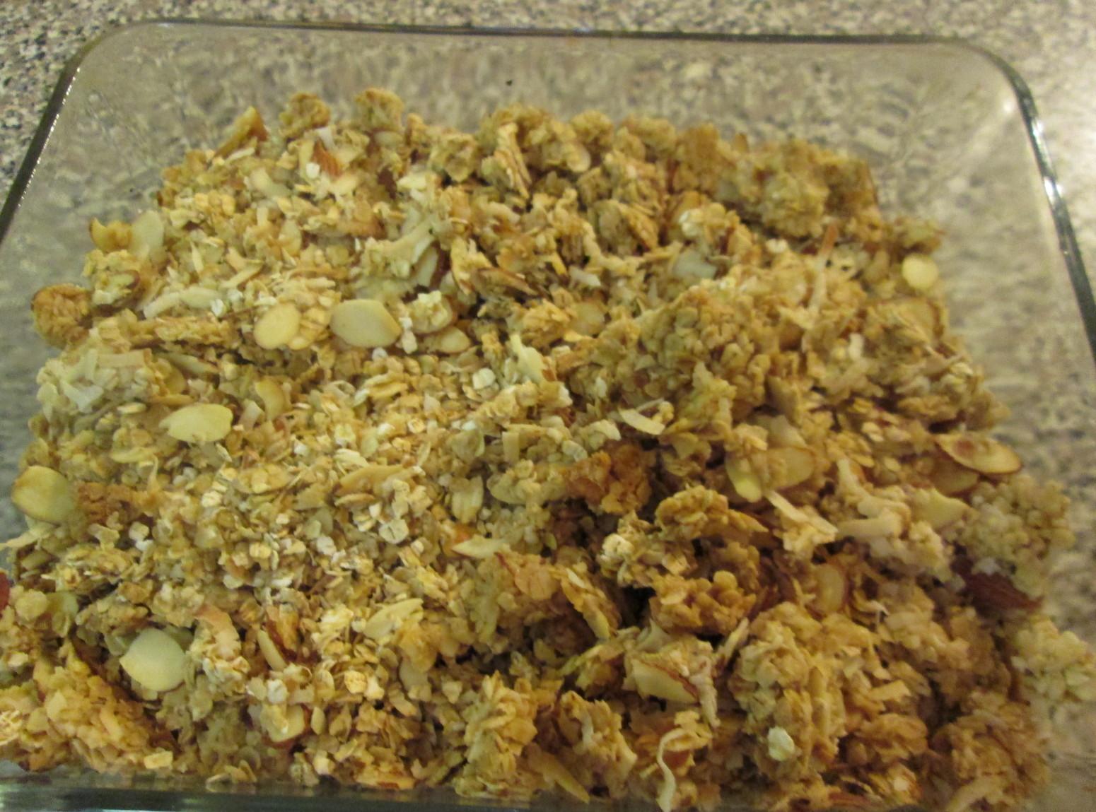 Almond Coconut Granola Recipe | Just A Pinch Recipes