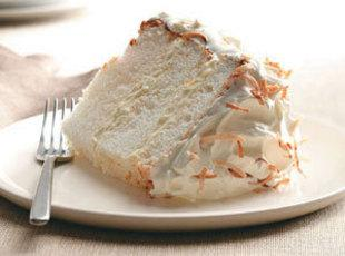 Orange, Coconut Angel Food Cake Recipe
