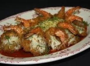 Shrimp Parmesan with Angel Hair Recipe