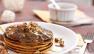 Toasted Coconut Whole Wheat Pancakes Recipe