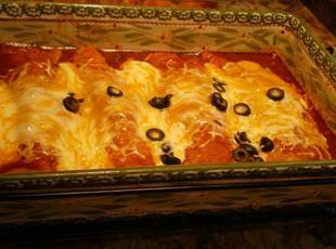Cheesy Beef Enchiladas My Way Recipe