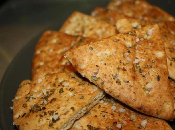 Homemade Baked Chips Tortilla or Pita Recipe | Just A Pinch Recipes