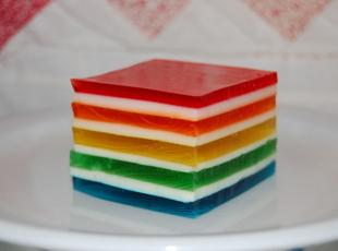 HAWAIIAN RAINBOW JELLO