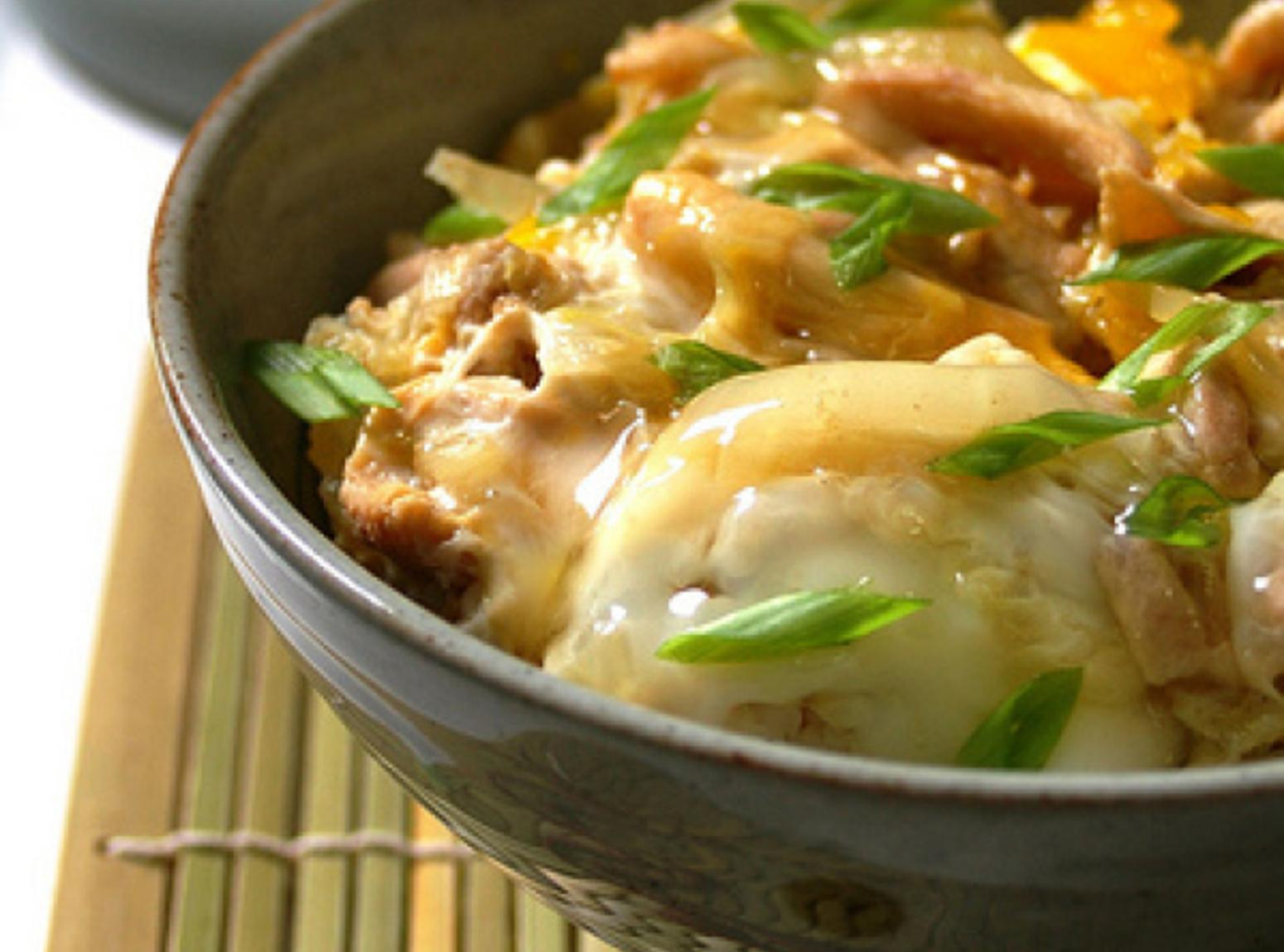 OYAKO DONBURI - A TRADITIONAL JAPANESE DISH Recipe