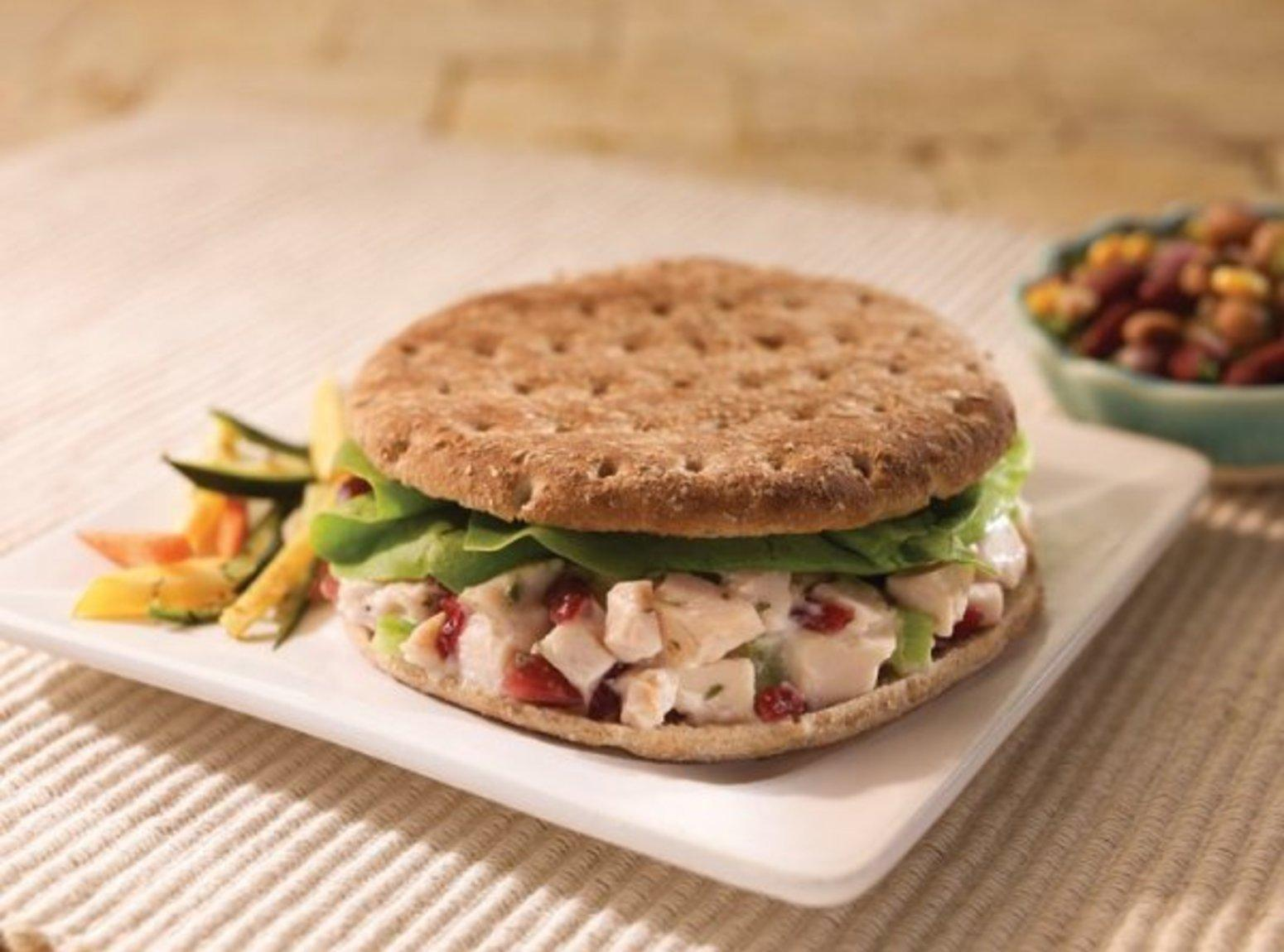 Tarragon Turkey Salad Sandwich Recipe | Just A Pinch Recipes