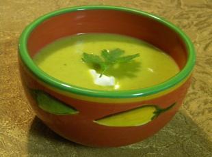 Creamy Southwestern Pumpkin Soup Recipe