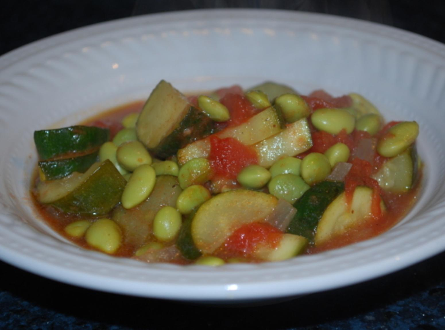 Egyptian Edamame Stew Recipe | Just A Pinch Recipes
