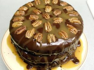 Cafe Latte's Turtle Cake Recipe