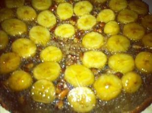 Banana Foster Upside Down Cake