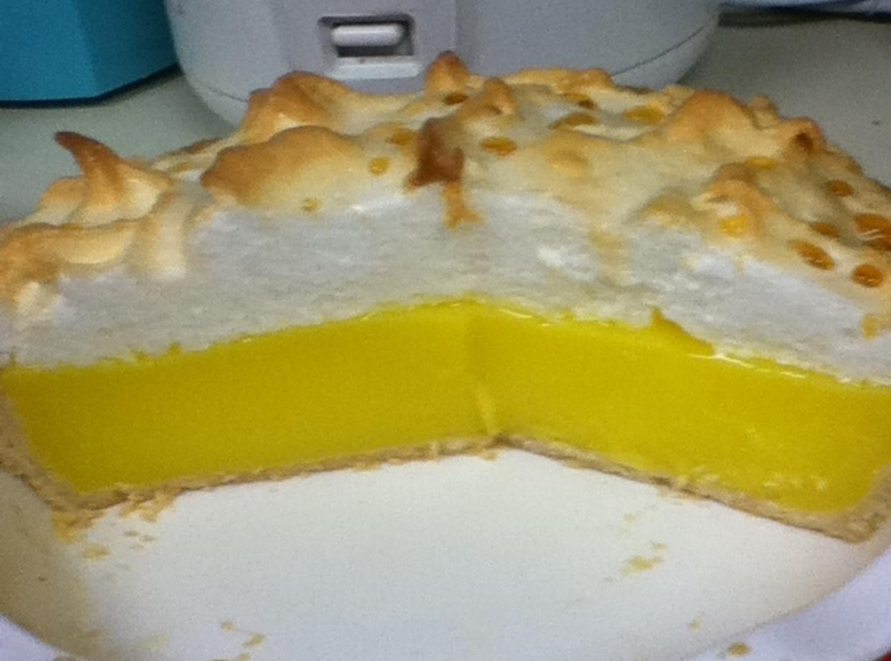 Mile High Lemon Pie (Jello easy) Recipe