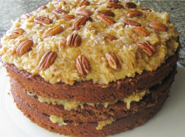 German Chocolate Cake Recipe Ingredients