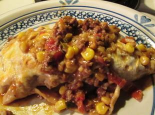 Enchiladas with Mexican Beer Enchilada Sauce Recipe
